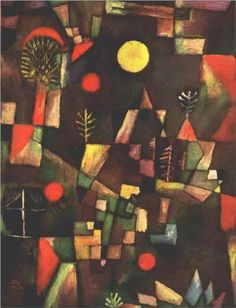 Full Moon - Paul Klee
