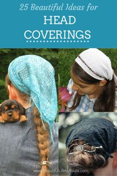25 Beautiful Ideas for Head Coverings | head covering styles | head covering movment | Christian head coverings Veils, Life Is Beautiful, Scarves, Fashion Accessories, Crochet Hats, Cover, Hair, Style, Scarfs