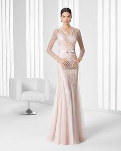 9T3D4 Vestido de Cocktail de Rosa Clará 2016