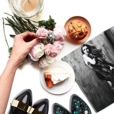 product styling flatlay photography
