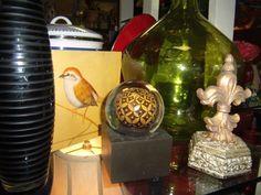 Paperweights and birdies