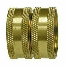 30012 | Midland | 3/4 FGH X FGH COUPLING | Brass Fittings | Garden Hose | Swivel FGH x FGH