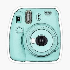 Fujifilm Instax Mini, Instax Camera, Camera Logo, Camera Icon, Camera Aesthetic, Blue Aesthetic, Travel Camera, Wallpapers Rosa, Image Clipart