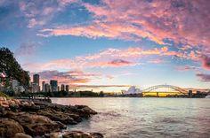 #Sydney Harbour Sunset. #Australia http://www.tripadvisor.com.au/ShowForum-g255060-i122-Sydney_New_South_Wales.html