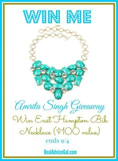 Win a gorgeous Amrita Singh necklace