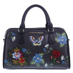0b5eb4e3b86d Christian Siriano, Satchel Handbags, Embroidered Flowers, Women  Accessories, Prada, Diaper Bag, Kate Spade, Butterflies, Changing Bag