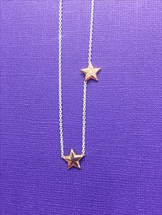 Make your mother feel extra special with a custom necklace,add a star for each of her \