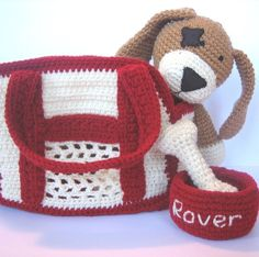 Pet Dog Crochet Pattern, I want my mom to make this for my girls!