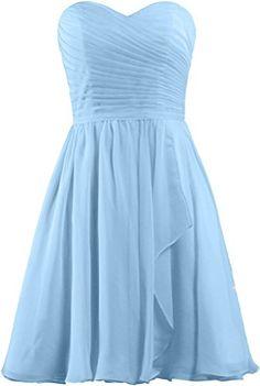 ANTS Women's Sweetheart Short Bridesmaid Dresses Chiffon Wedding Party Dress Size 4 US Pale Blue ANTS http://www.amazon.com/dp/B00VA5AR98/ref=cm_sw_r_pi_dp_TyNWwb1NNQ41V