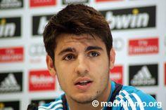 Alvaro Morata, Real Madrid.