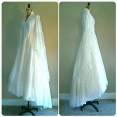 Hey, I found this really awesome Etsy listing at https://www.etsy.com/listing/250516396/the-white-winged-wedding-gown-vintage