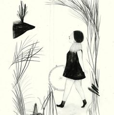 sketch by *Daniela Tieni, via Flickr