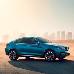 What could the future of the BMW X model family look like?   Get inspired at the Dubai International Motor Show from the 5th of November to the 9th of November and meet the fascinating combination of BMW X robustness and BMW Coupé sportiness- The BMW Concept X4