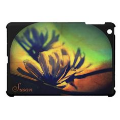 Floral Sunset View iPad Mini Case *Personalize*