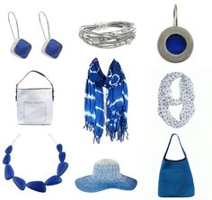 Accessorize for Summer at OZ! #Blue #Accessories #jewelry #HandBags #Scarves #Hats #SummerBlues #ShopLocal #ShopCapeCod #BarnstableVillage