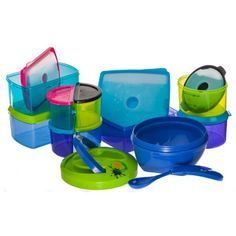 Kids' 25 Piece Lunch Container Set