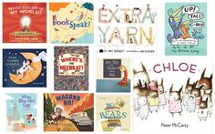 New Picture Books You'll Want to Buy – Winter 2012...they all look so cute!
