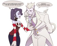 Squigly and human Leviathan by nuTree