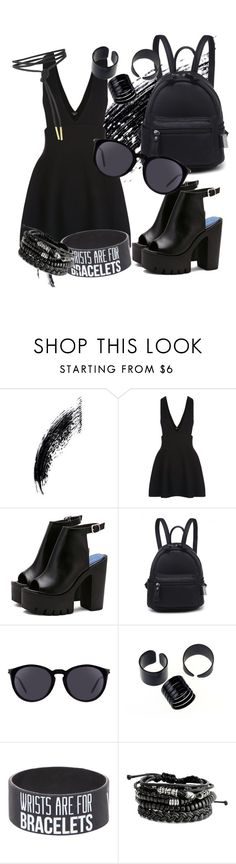 """""""Untitled #41"""" by juliastiv ❤ liked on Polyvore featuring New Look and Yves Saint Laurent"""