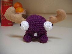 Mini Moose Crochet Pattern - Invader Zim