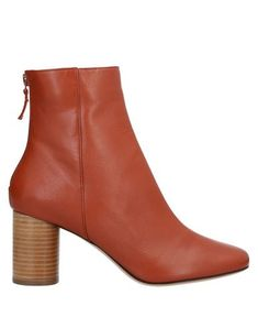 SANDRO Ankle boot. #sandro #shoes Leather Boots, Soft Leather, Brown Ankle Boots, Boots Online, Sandro, World Of Fashion, Luxury Branding, Shoe Boots, Booty