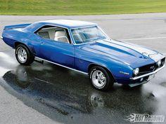 Resultado de imagen para Chevrolet Yenko Camaro 1969 azul