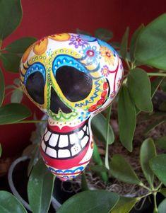 Calaverita / Sugar Skull Gourd