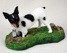 Rat Terrier My Dog Figurine