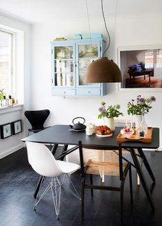 Hus med kontraster: Designerens personlige legeplads - Boligliv