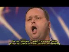 Paul Potts - Con Te Partirò (Legendas em Português) - YouTube