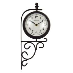 Luster Leaf Evesham 20054 Clock And Thermometer, 2015 Amazon Top Rated Outdoor Clocks #Lawn&Patio