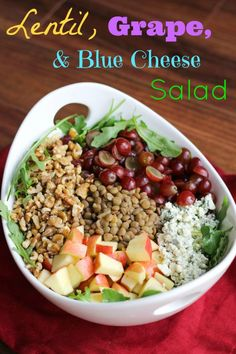 Butternut Squash & Apple Salad With Creamy Blue Cheese Dressing ...