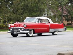 1954 Cadillac Eldorado Convertible ''Aztec Red'' (6267SX)