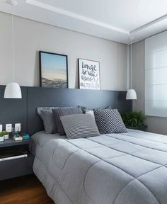 49 Stylish Bedroom Ideas Everyone Should Keep - Luxury Interior Design Modern Bedroom Decor, Stylish Bedroom, Home Bedroom, Master Bedroom, Bedroom Ideas, Contemporary Bedroom, Master Suite, Bedroom Pictures, Master Master