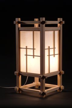 10 Japanese Style Table Lamps : More At FOSTERGINGER @ Pinterest