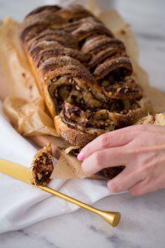Pão de chocolate e avelã | Vídeos e Receitas de Sobremesas