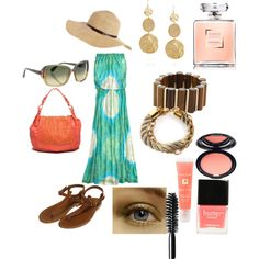 Summer #4, created by audralachausse on Polyvore