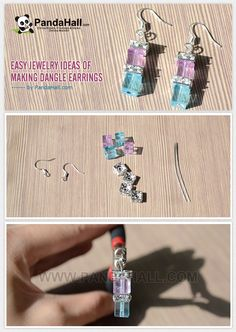 Handcrafting your own bead earrings is not only can be very cool but also economical, so why don't you learn and make this lovely dangle earring instead of spending your energy to shop one.