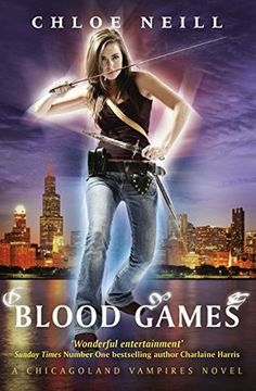 Blood Games by Chloe Neill, (Chicagoland Vampires #10). Loved it! http://booksandbooksreviews.blogspot.co.uk/2014/08/quick-review-blood-games-by-chloe-neill.html