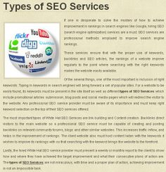 If one is desperate to solve the mystery of how to achieve improvement in rankings in search engines like Google, hiring SEO (search engine optimization) services are a must. SEO services are professional methods employed to improve search engine rankings.