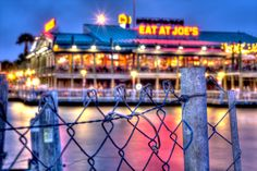 Eat at Joe's on the Kemah Boardwalk
