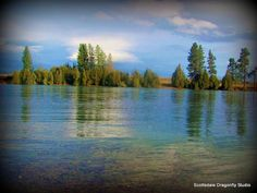 Flathead River-Polson, MT- I think this one was taken by son