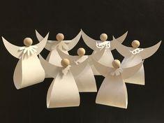 DIY; paper Angel, paper, Christmas, xmas, engle, papir, julepynt