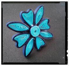 Quilling ring..
