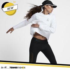 NikeCourt Dry Women's Tennis Top #nike #tennisfashion #fashion #tennisgear