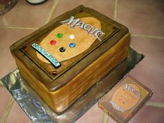 Somebody in my house has a birthday coming.  #cakedecorating http://melbel.hubpages.com/hub/Nerdy-Wedding-Cakes