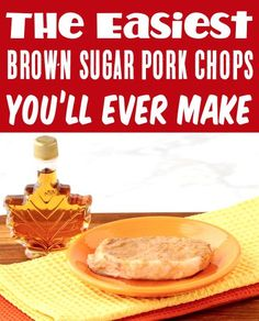 Slow Cooker Pork Chops Recipes - Maple Brown Sugar Pork Chop! This savory dish will be one of the EASIEST things you'll make all week! Go grab the recipe and give it a try this week! Slow Cooker Creamed Corn, Creamed Corn Recipes, Easy Potato Recipes, Pork Chop Recipes, Brown Sugar Pork Chops, Hashbrown Casserole Recipe, Smashed Potatoes Recipe, Delicious Crockpot Recipes, Chops Recipe