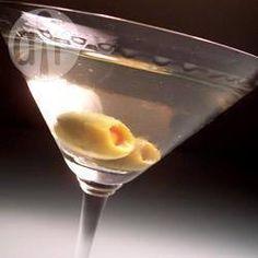Martini com azeitona @ allrecipes.com.br