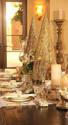 Christmas tablescape....