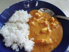 Kuřecí tikka masala s basmati rýží Indian Chicken Recipes, Macaroni And Cheese, Meat, Ethnic Recipes, Indie, Food, Mac And Cheese, Essen, Meals